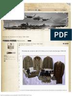 Prendas de Invierno U.S. Army 1944-1945