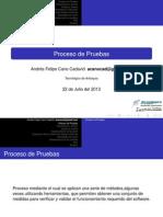 3 - Proceso de Pruebas