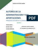 Autores de La Administracion