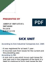 The Sick Unit & case study NICCO BATTERIES