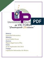 Legislacion Informatica Mexico Angelwha