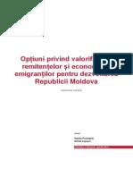 Studiul Privind Optiunile Remitentelor in Republica Moldova (Versiunea 4.0)