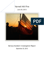 Yarnell Hill Serious Accident Investigation Report