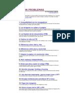 RESOLUCIÓN PROBLEMAS en html