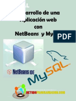 Desarrollo de una aplicación web con NetBeans  y MySQL