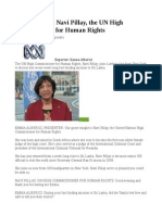 Interview With Navi Pillay, The UN High Commissioner for Human Rights