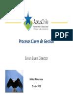 CD procesos claves de gestión II semestre 2012