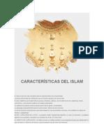CARACTERýýSTICAS DEL ISLAM