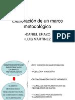 Elaboración de un marco metodológico