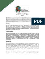 Programa de la asignatura MECÁNICA para ING_ELÉCTRICA