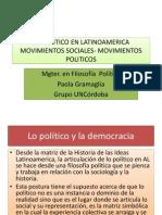 Lo Politico en Latinoamerica