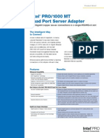 Pro1000mt Quad Port Server Adapter-DS