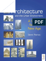 50783855 Architecture and the Urban Environment a Vision for the New Age
