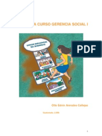 Antologia Curso Gerencia Social I Septiembre 2008