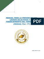 Manual Prevencion Notarial - Lavado de Activos