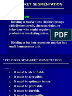 Market Segmentation Targeting & Positioning- By Subha Rudra