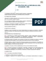 Constitucion de 1998