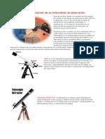 Guía de instrumento de observación