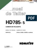 Manual Taller Camion Volquete Hd 785 Komatsu