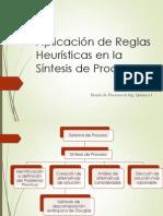 Aplicación de Reglas Heurísticas