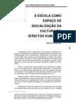 A ESCOLA COMO ESPAÇO DE SOCIALIZAÇÃO - mod_4_adelaide