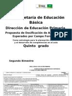 5 SEGUNDO BIM 2011-2012