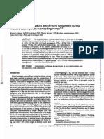 Glycogen Storage Capacity and de Novo Lipogenesis. ESTUDO .ARTIGO. QUANTO de CARBO. VIRA GORDURA. Am J Clin Nutr-1988-Acheson-240-7