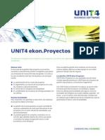 UNIT4 Ekon Proyectos Folleto