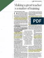 sub training article new