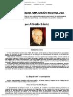LA HISPANIDAD, UNA MISIÓN INCONCLUSA - P. ALFREDO SAENZ