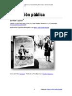Walter Lippman y las imágenes en nuestra cabeza (traducción)