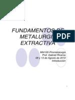 fundamentos metalurgia extractiva