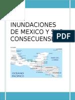 Las Inundaciones de Mexico y Sus Consecuensias Tarea