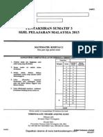 Trial Mathematics Spm Terengganu 2013 Paper 2