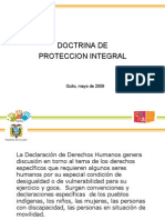 DOCTRINA DE PROTECCION INTEGRAL
