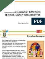 DERECHOS HUMANOS Y DERECHOS DE NIÑOS Y NIÑAS
