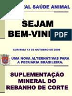 apresentaçao - SUPLEMENTAÇÃO MINERAL - Dra. Sandra