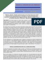 INFORME MISIONERO DE HONDURAS - JULIO 2009