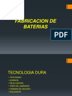 Fabricacion de Baterias