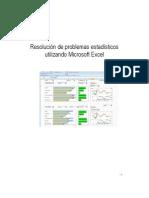Resolución de problemas estadísticos utilizando Microsoft Excel