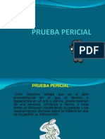 PRUEBA PERICIAL Huitron Procesal Penal