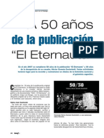 A los 50 años de la publicación de El Eternauta