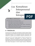 Topik 5 Kemahiran Interpersonal Dan Intrapersonal