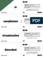 (eBook) Vocabulary - English Flashcards