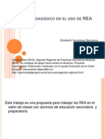 Enfoque pedagógico en el uso de REA EVB