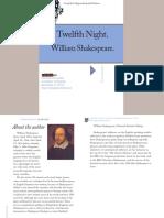 William Shakespeare Twelfth Night