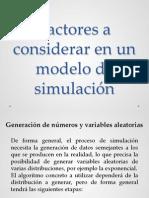Factores de Una Simulacion