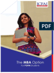 PGPM With MBA Option