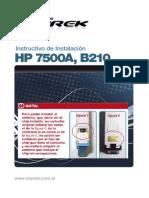 Instructivo Hp 7500A