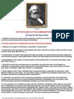 10 Planks Communist Manifesto